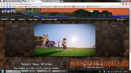 [SCRIPT][PHP] Custom Minecraft Website