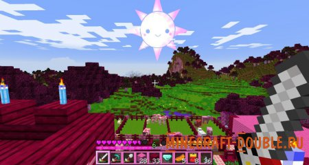[PACK][1.8][x16] Ресурспак Kawaii World!